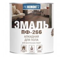 Эмаль ПФ-266 для пола PROREMONTT красно-коричневая  2,7кг
