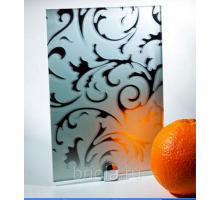 Зеркало листовое барокко 4мм 2550x1605мм