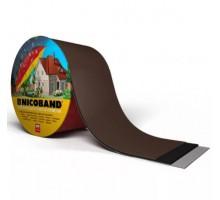 Самоклеящаяся герметизирующая лента NICOBAND  3м 100мм коричневый