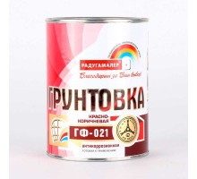 Грунт ГФ-021 красно-коричневый  1,9кг РАДУГА