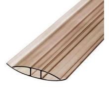 Профиль соединительный неразъемный HP  4-6мм L=  6м бронза