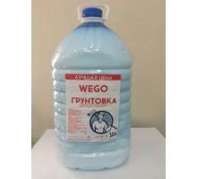 Грунтовка глубокого проникновения WEGO  для внутренних и наружных работ 10л