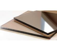 Монолитный поликарбонат бронза  4мм 2,05х3,05м