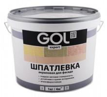 Шпатлевка акриловая Палиж GOL expert фасадная  1,5кг ExpK.122-1,5