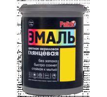 Эмаль акриловая глянцевая Палиж желтая  2,5кг CE-605-2,5