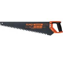 Ножовка по пенобетону Runex Cement 700мм  твердосплавленные зубья