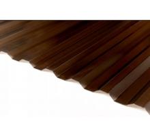 Профилированный поликарбонат Стандарт МП-20 1,15*2м Бронза