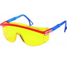 Очки защитные открытые желтые O37 UNIVERSAL TITAN CONTRAST 13713