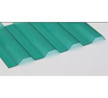 Профилированный поликарбонат Стандарт МП-20 1,15*2м Зеленый