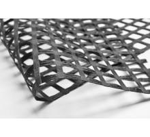 Геосетка стекловолокно Эмисет ССНП 4,0x100м ячейка 50x50