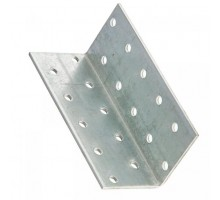 Крепежный уголок равносторонний  40x40x 60мм