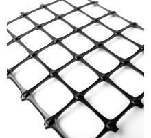 Геосетка полипропилен Геоком СД-30 4,0x50м ячейка 40x40мм