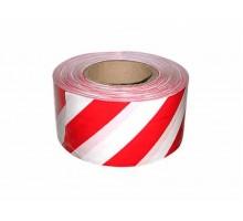 Сигнальная лента 50мм150м бело-красный