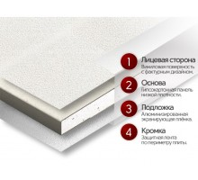 Потолочная плита MAGELAN Arctic T-24 Board 600x600