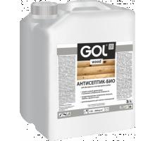 Пропитка антисептик - био GOL wood  10кг бесцветный  Wd.270-10
