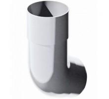 Колено водосточной трубы 45°  ф82мм VERAT  белый