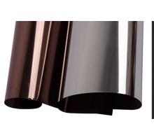 Пленка бронза/серебро солнцезащитная  42мкм 1,52x30м